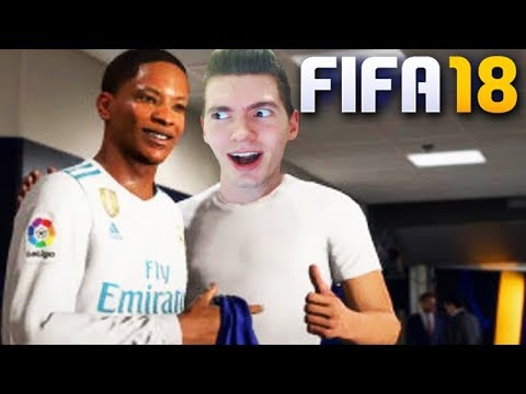 "FIFA 18 - A VOLTA DO ""THE JOURNEY"" (ALEX HUNTER)!!! - DEMO"