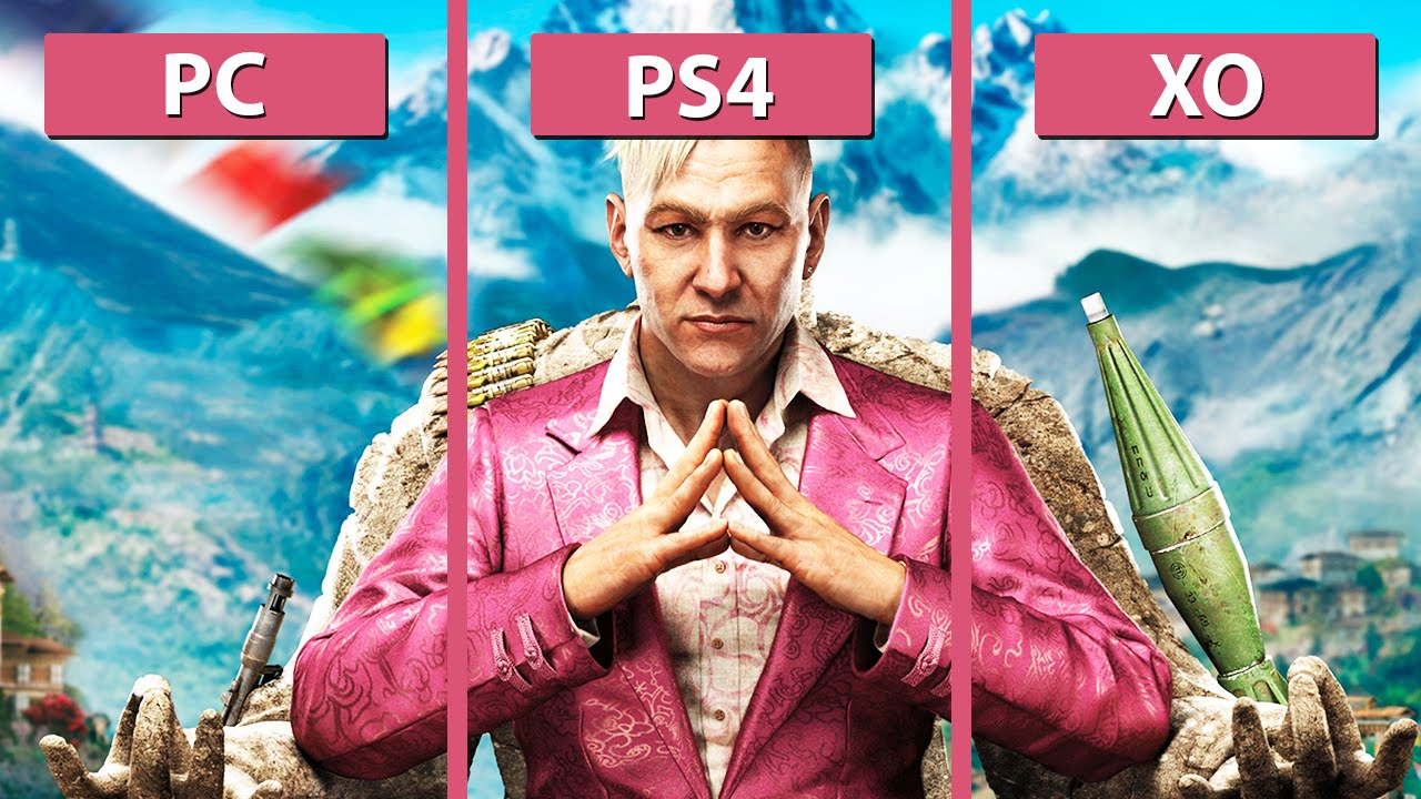 far cry 4 – pc vs. ps4 vs. xbox one next-gen comparison [full hd