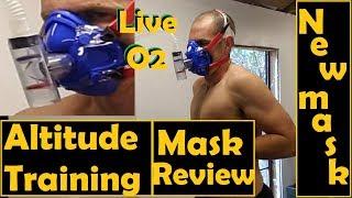 Altitude training mask. Live O2. Altitude Tech machine.
