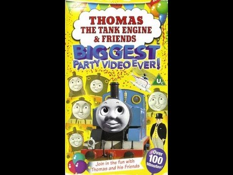start   thomas  tank engine friends biggest party video  youtube