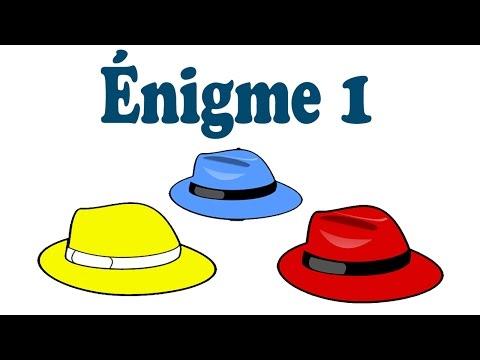 Énigme #1 - l'aveugle et les 5 chapeaux