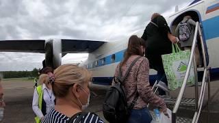 Ан-24 а/к КрасАвиа | Рейс Красноярск (Черемшанка) - Байкит