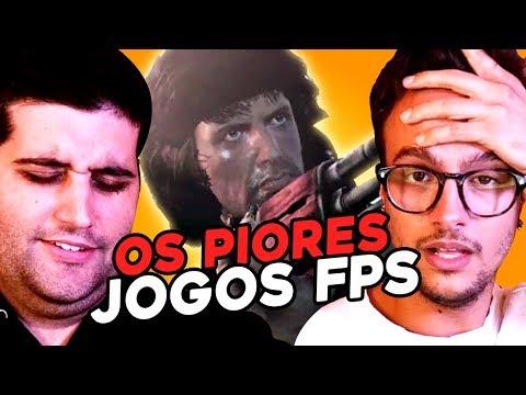 OS PIORES FPS  DE TODOS OS TEMPOS com Damiani e Davy