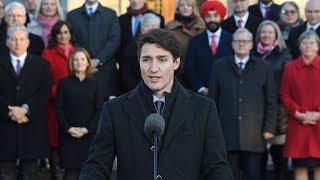 Prime Minister Justin Trudeau unveils new cabinet