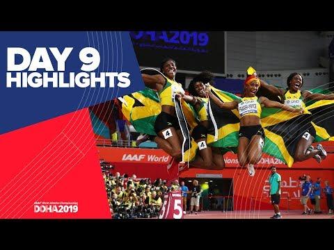 highlights-|-world-athletics-championships-doha-2019-|-day-9