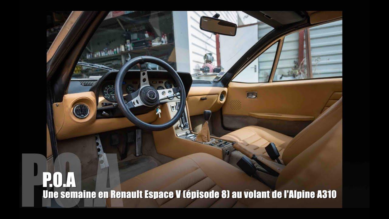 Souvent Renault Alpine A310 : la conduite - YouTube OZ01