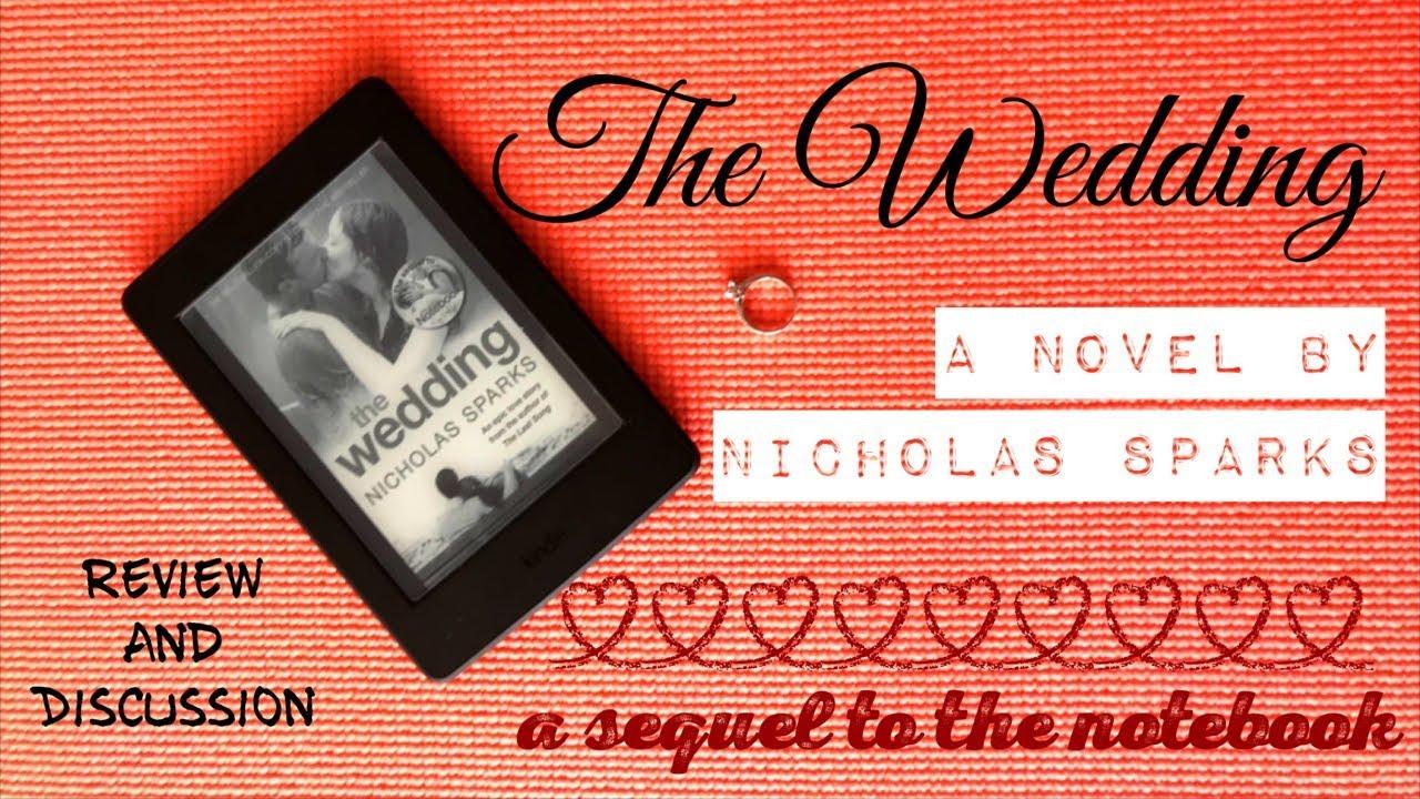 The Wedding Nicholas Sparks Book