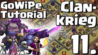 GoWiPe TUTORIAL + CLANKRIEG /// Let's Play /// Clash of Clans /// German/Deutsch HD