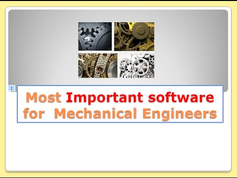 Top five software mechanical engineer should know or learn ...