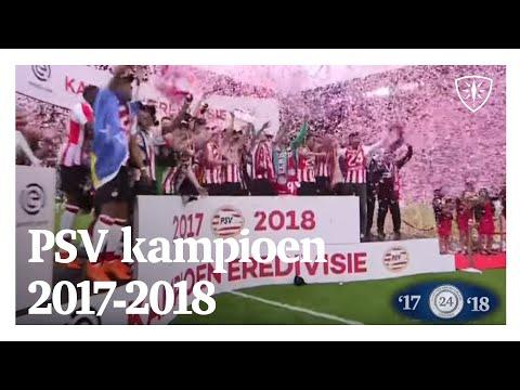 Psv kampioen eredivisie 2017 - 2018