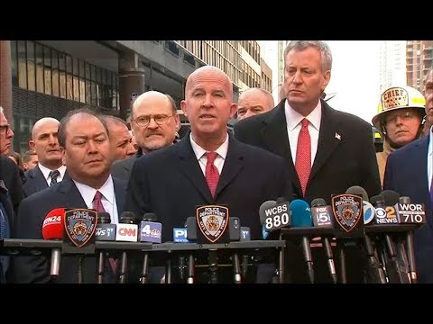 NYPD Commissioner statement on Port Authority explosion