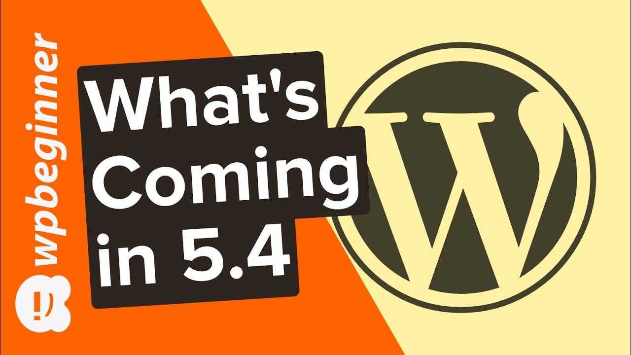 5.4 wordpress