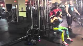 Тренировка спины с Чарльзом Глассом