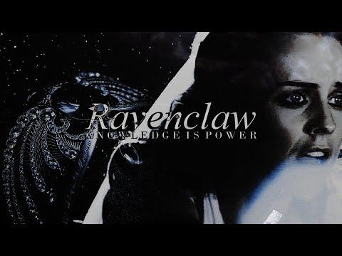 • Ravenclaw House [Knowledge is power]
