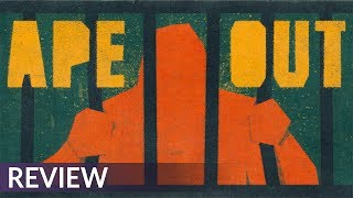 Ape Out Review | A Jazz-Infused Ape Escape (Video Game Video Review)