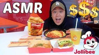 ASMR Mukbang Jollibee (Eating Show) WITH REAL SOUNDS!!!!!