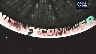 La Familia Rayada presente en el Mercedes-Benz Stadium en los 4tos de Final de la Concacaf Liga de Campeones.
