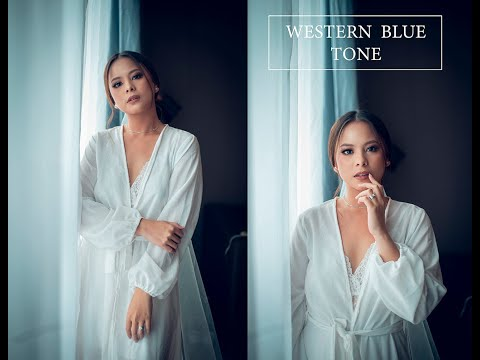 Photoshop Tutorial Cinematic Soft Blue Color