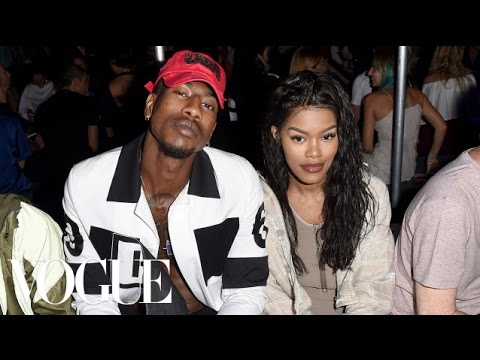 Teyana Taylor on Walking in Kanye West's Yeezy Show and Twinning With Her Husband | Vogue. Http://Bit.Ly/2GPkyb3