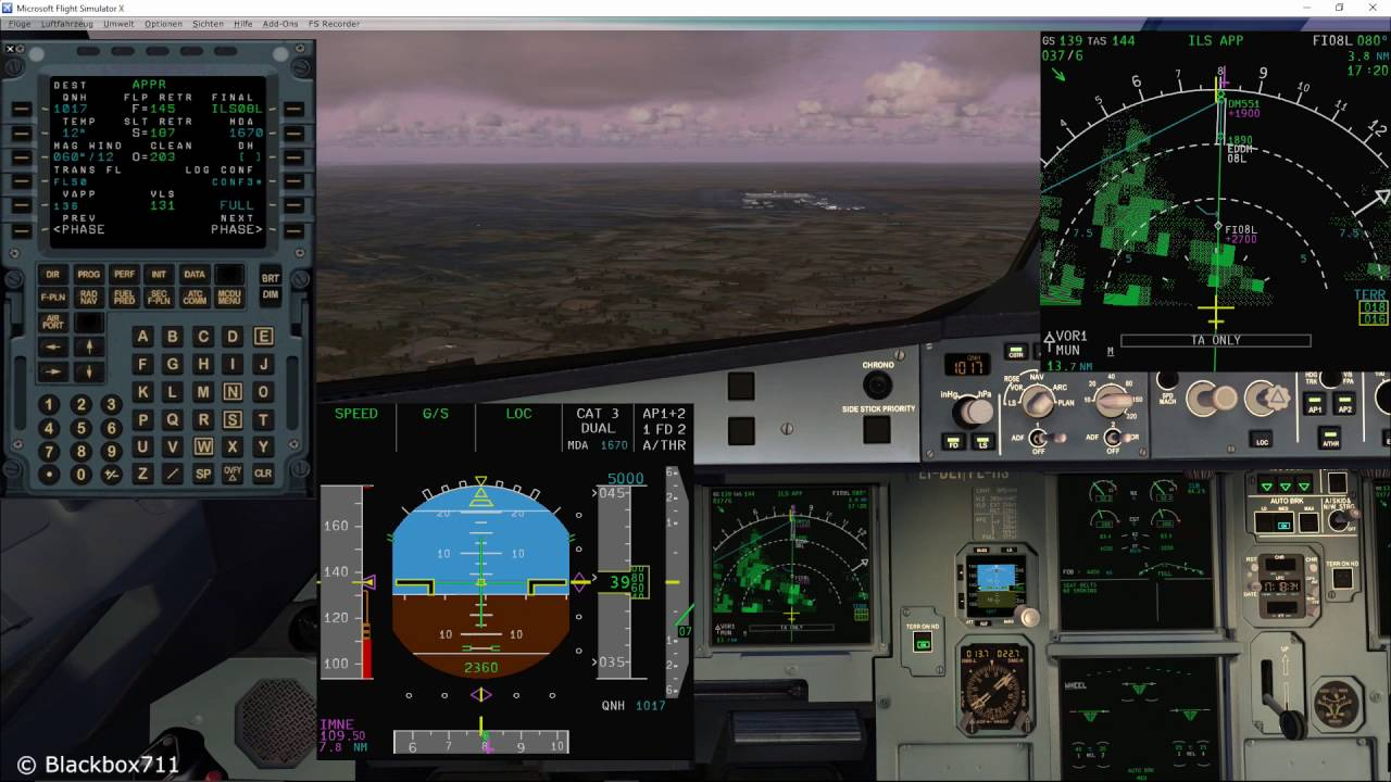 FSLabs A320-X Basics: VLS and Approach Speed Management
