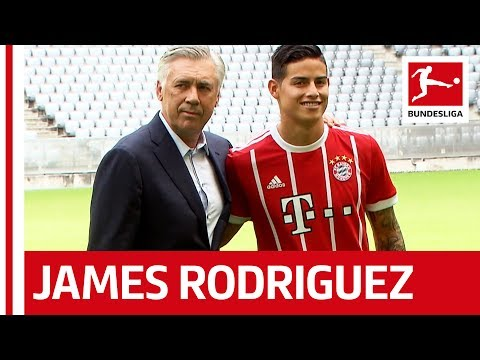 Bayern München - New Signing James Rodriguez