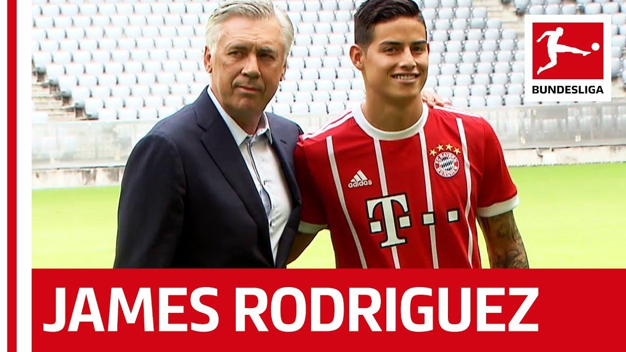 watch c1d23 8b631 Bayern München - New Signing James Rodriguez