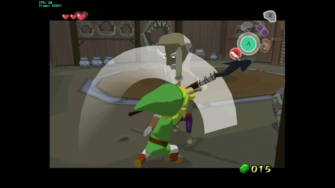 Wind Waker 60 FPS Hack Preview 1