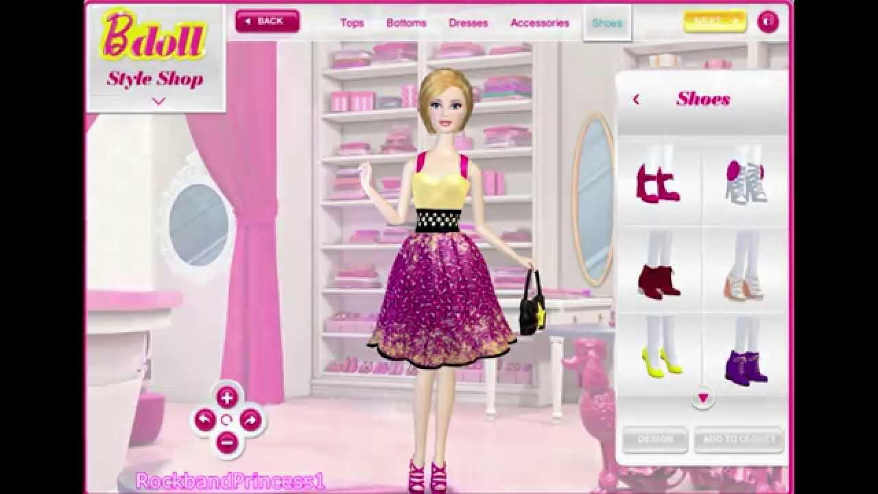 Barbie.com dress up games fashion for barbie 82