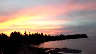 Parksville beach club resort room 426 at sunset