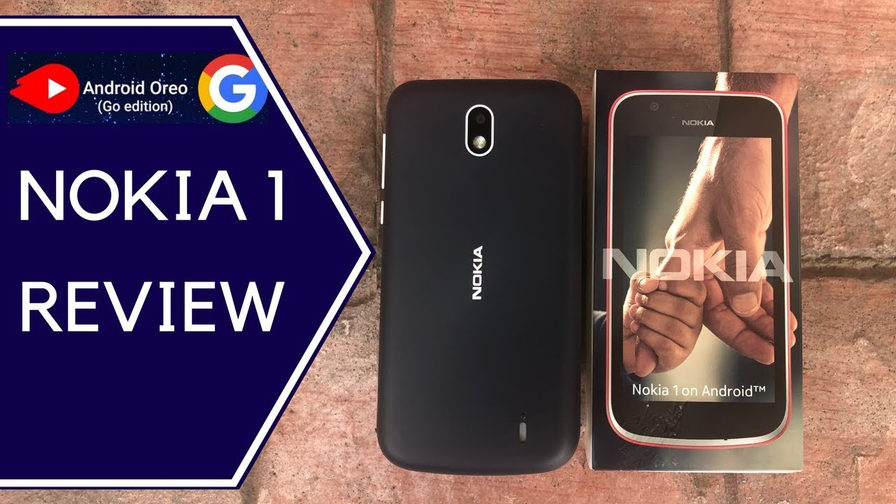 Nokia 1 Review What S New With The Android 8 1 Oreo Go Edition Youtube
