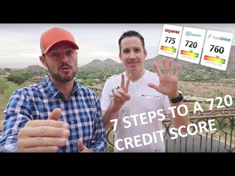 7 STEPS TO A 720+ CREDIT SCORE TO IMPROVE YOUR CREDIT I Chris Record Vlogs 91