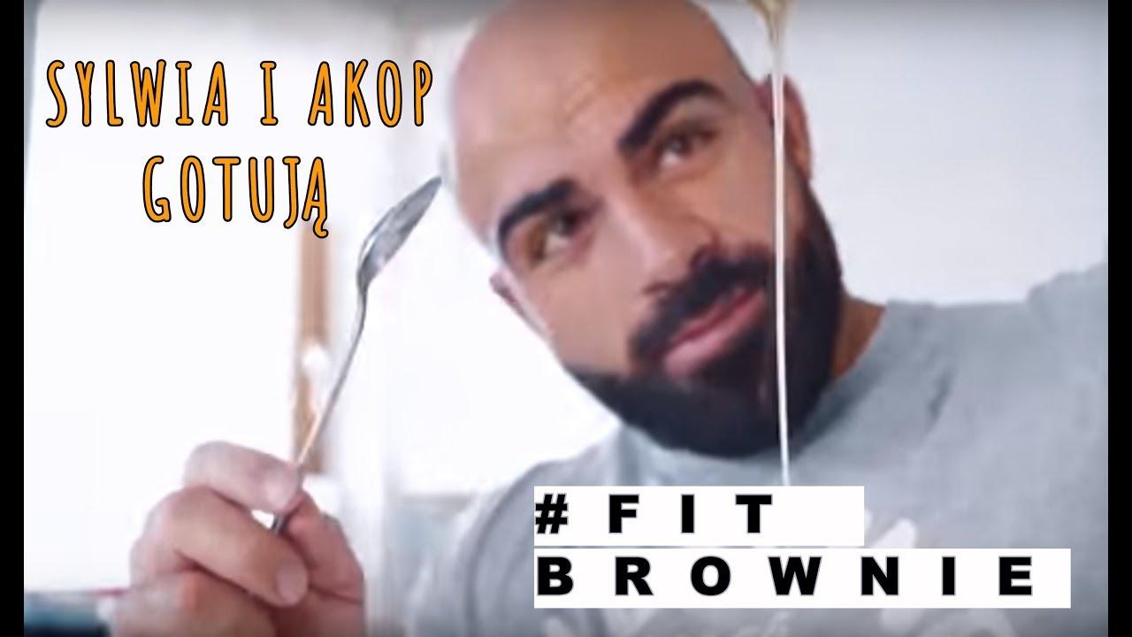 SYLWIA i AKOP gotują – FIT brownie