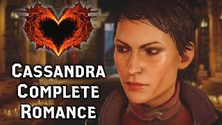Dragon Age INQUISITION ► Cassandra Complete Romance & Story - All Scenes