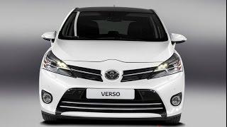 Тест- Драйв Toyota Verso