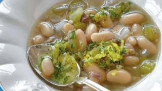 White Bean Soup With Gremolata Recipe
