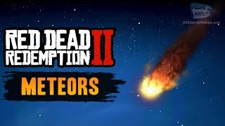 Red Dead Redemption 2 Easter Egg #4 - Meteor House & Meteor Shower