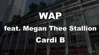 Karaoke♬ WAP feat. Megan Thee Stallion - Cardi B 【No Guide Melody】 Instrumental