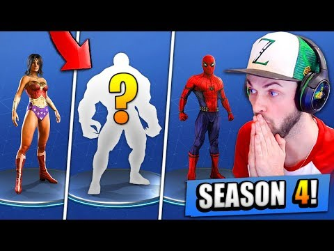 NEW Season 4 *SECRETS* LEAKED - Fortnite: Battle Royale!