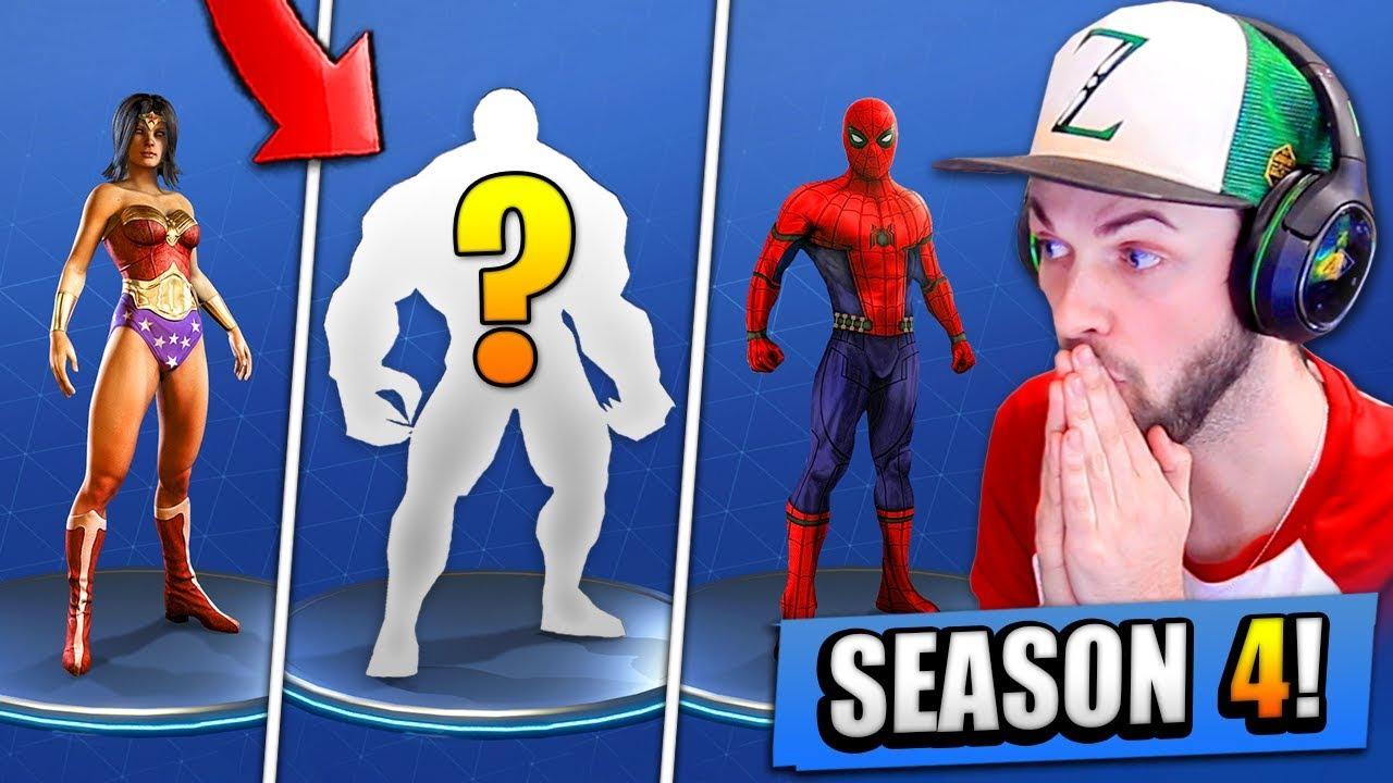 New Season 4 Secrets Leaked Fortnite Battle Royale Youtube