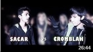 Sacar Vs Cromblah [Main Event] - Raw Barz (RAP BATTLE)