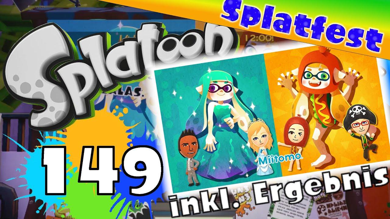 Splatoon Online: Part 149 - Splatfest: Gala oder Kostümpartys? (Teil ...