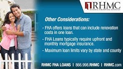 NJ FHA Loans | NY, CT, PA, NJ FHA First Time Homebuyer | RHMC