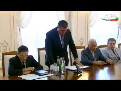 """Prezident İlham Əliyev: """"Siz utanmalısınız""""."""