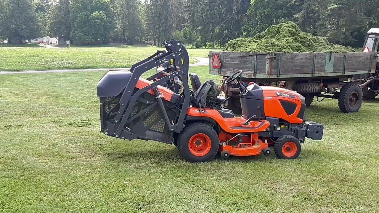KUBOTA municipal lawn tractor #lawnmower