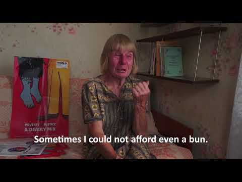 Poverty and the death penalty in Belarus.