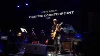 Jonny Greenwood - Electric Counterpoint Live @ Yotaspace in Moscow, Russia