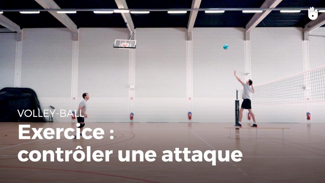 Exercice de défense : contrôler une attaque.   Volley-Ball ...