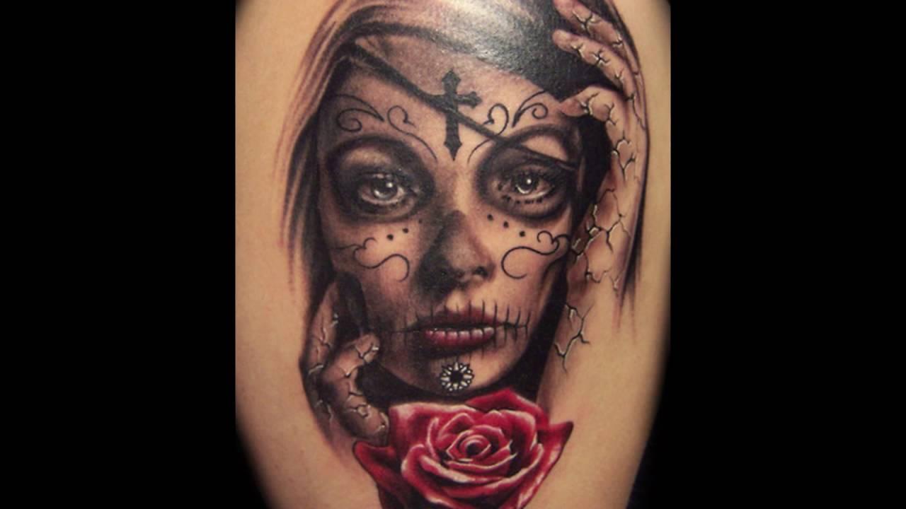 Tatuajes de catrinas youtube for Tattoos mexicanos fotos