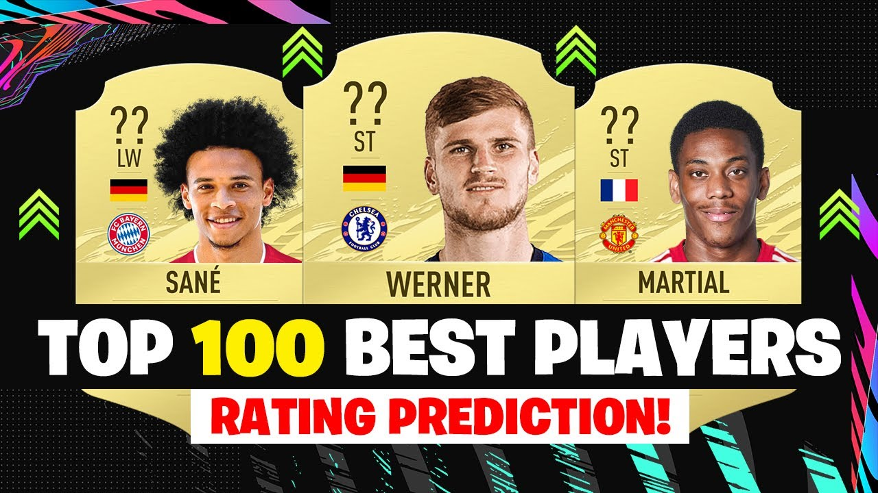 FIFA 21 | TOP 100 BEST PLAYER RATINGS! (100-51) ??| FT. WERNER, SANE, MARTIAL... etc