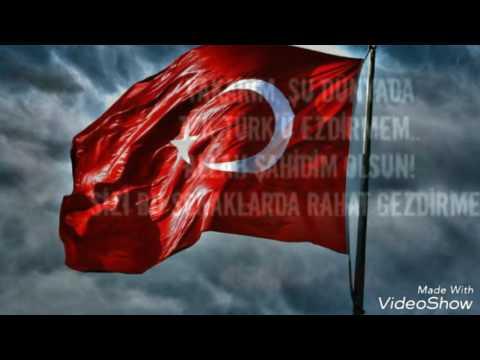 TÜRK OĞLUYUM TÜRK OLARAK ÖLÜRÜM...